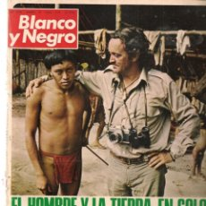 Collectionnisme de Magazine Blanco y Negro: REVISTA: BLANCO Y NEGRO. Nº 3230. FELIX RODRIGUEZ DE LA FUENTE: EL HOMBRE Y LA TIERRA. 1974. (P/DS3). Lote 191078470