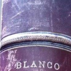 Coleccionismo de Revista Blanco y Negro: LIBRO BLANCO Y NEGRO TOMO AÑO 1892 N 35 AL 86 UN AÑO . Lote 191372307