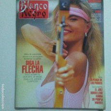 Collectionnisme de Magazine Blanco y Negro: BLANCO Y NEGRO 3815 9-8-1992.LORETO VALVERDE. PERET. .VER SUMARIO. Lote 191638283