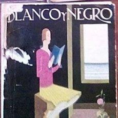Collectionnisme de Magazine Blanco y Negro: BLANCO Y NEGRO 25 AGOSTO DE 1929. Lote 191805576