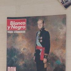 Coleccionismo de Revista Blanco y Negro: BLANCO Y NEGRO. DON JUAN CARLOS REY DE ESPAÑA. Lote 192211463