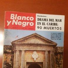Coleccionismo de Revista Blanco y Negro: BLANCO Y NEGRO REVISTA Nº 2695 MADRID, 27 DE NOVIEMBRE 1965_ESPAÑA EN PUERTO RICO. DRAMA EN CARIBE.. Lote 237634870