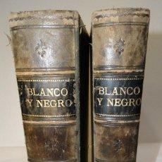 Coleccionismo de Revista Blanco y Negro: BLANCO Y NEGRO AÑO 1916 COMPLETO. 2 TOMOS. MUY INTERESANTE. Lote 193631487