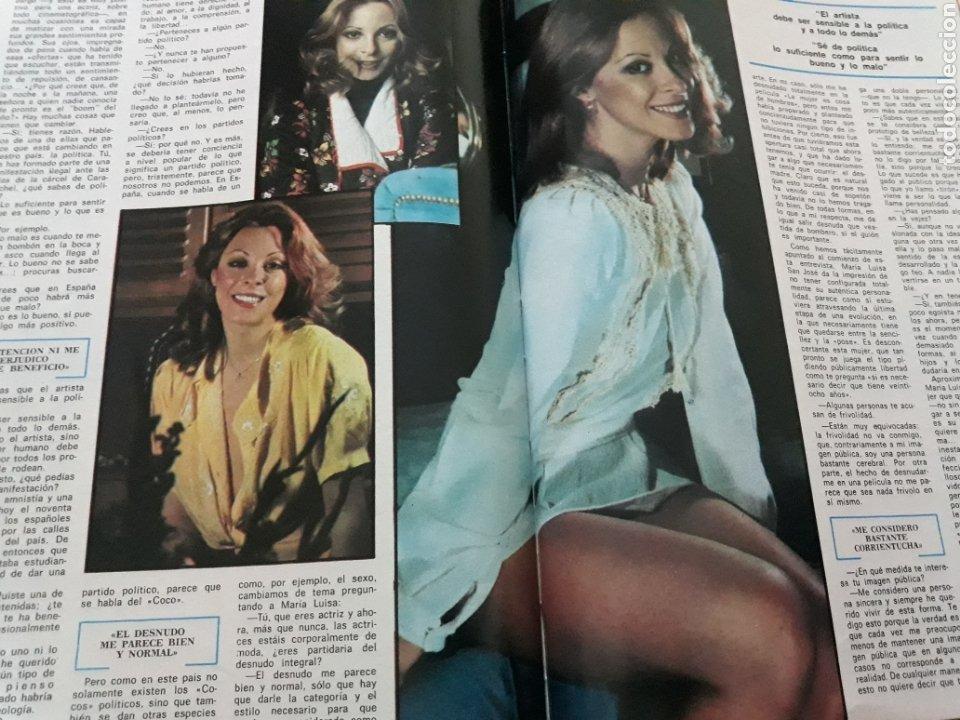 Coleccionismo de Revista Blanco y Negro: ENTREVISTA A MARIA LUISA SAN JOSÉ. 4 PAGINAS AÑO 1976 - Foto 2 - 194134133