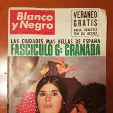 Coleccionismo de Revista Blanco y Negro: BLANCO Y NEGRO REVISTA Nº 2823 MADRID, 11 DE JUNIO 1966_500 MILLAS INDIANAPOLIS. UGANDA. GRANADA.. Lote 194210025