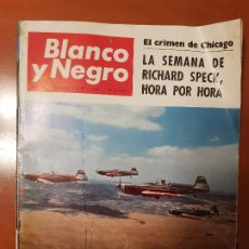 Coleccionismo de Revista Blanco y Negro: BLANCO Y NEGRO REVISTA Nº 2831 MADRID, 6 DE AGOSTO 1966_VUELO ACROBATICO, ESPAÑA CAMPEONATO DE MOSCU. Lote 194211608