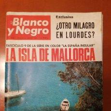 Coleccionismo de Revista Blanco y Negro: BLANCO Y NEGRO REVISTA Nº 2834 MADRID, 27 DE AGOSTO 1966_LA ISLA DE MAYORCA. SALVAMENTO EN LOS ALPES. Lote 194212345