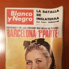 Coleccionismo de Revista Blanco y Negro: BLANCO Y NEGRO REVISTA Nº 2837 MADRID, 17 DE SEPTIEMBRE 1966_BARCELONA 1ª. MONSERRAT FAURA, PUBILLA.. Lote 194212851