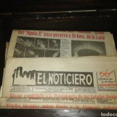 Coleccionismo de Revista Blanco y Negro: LOTE 25 PERIODICOS, AÑOS 60. Lote 194359457
