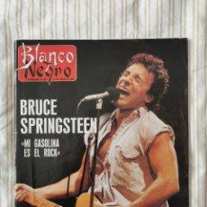 Coleccionismo de Revista Blanco y Negro: REVISTA BLANCO Y NEGRO 31/7/1988 BRUCE SPRINGSTEEN Y MICHAEL JACKSON /MI GASOLINA ES EL ROCK. Lote 194859256