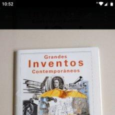 Coleccionismo de Revista Blanco y Negro: GRANDES INVENTOS CONTEMPORÁNEOS. Lote 194861460