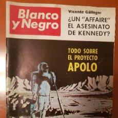 Coleccionismo de Revista Blanco y Negro: BLANCO Y NEGRO REVISTA Nº 2846 MADRID, 19 DE NOVIEMBRE 1966_ASESINATO DE KENNEDY, PROYECTO APOLO.. Lote 195043367