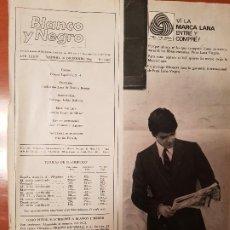 Coleccionismo de Revista Blanco y Negro: BLANCO Y NEGRO REVISTA Nº 2849 MADRID, 10 DE DICIEMBRE 1966_EXTRA DE NAVIDAD. LOS PASOS DE JESUS.. Lote 195045121