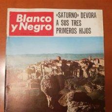 Coleccionismo de Revista Blanco y Negro: BLANCO Y NEGRO REVISTA Nº 2857 MADRID, 4 DE FEBRERO 1967_CUENCA. SATURNO DEVORA SUS TRES HIJOS.. Lote 195045815