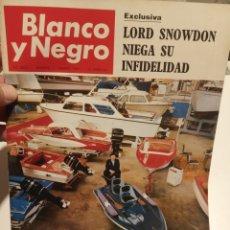 Coleccionismo de Revista Blanco y Negro: BLANCO Y NEGRO. Lote 195048595