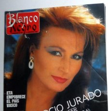 Coleccionismo de Revista Blanco y Negro: REVISTA BLANCO Y NEGRO ABC NOVIEMBRE AÑO 1988. ROCIO JURADO - FRANCO BATTIATO. ANTIGUA. Lote 195139336