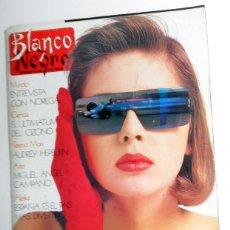 Coleccionismo de Revista Blanco y Negro: REVISTA BLANCO Y NEGRO ABC MARZO AÑO 1989. ENTREVISTA ALASKA, MADONNA, AUDREY HEPBURN. ANTIGUA. Lote 195140637