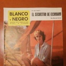 Coleccionismo de Revista Blanco y Negro: BLANCO Y NEGRO REVISTA Nº 2511 MADRID, 18 DE JUNIO 1960_SECUESTRO DE EICHMANN. CUEVA DE NERJA. TINTÍ. Lote 195426456