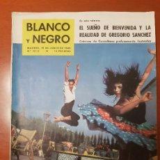 Coleccionismo de Revista Blanco y Negro: BLANCO Y NEGRO REVISTA Nº 2512 MADRID, 25 DE JUNIO 1960_CRONICAS DE CORROCHANO. BIENVENIDA Y GREGORI. Lote 195426701