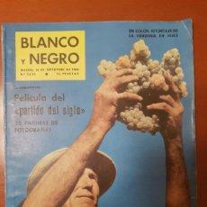 Coleccionismo de Revista Blanco y Negro: BLANCO Y NEGRO REVISTA Nº 2523 MADRID, 10 DE SEPTIEMBRE 1960_PARTIDO DEL SIGLO MADRID-BARCELONA.. Lote 195427303