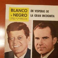 Coleccionismo de Revista Blanco y Negro: BLANCO Y NEGRO REVISTA Nº 2531 MADRID, 5 DE NOVIEMBRE 1960_NIXON Y KENNEDY VISTAS ELECTORALES.. Lote 195428346