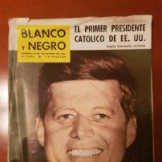 Coleccionismo de Revista Blanco y Negro: DIFICIL DE CONSEGUIR BLANCO Y NEGRO Nº 2532, 5 DE NOVIEMBRE 1960_PRIMER PRESIDENTE CATOLICO DE EEUU.. Lote 195428742