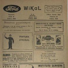 Coleccionismo de Revista Blanco y Negro: REVISTA BLANCO Y NEGRO-HOJA MODA AÑOS 30. Lote 195886270