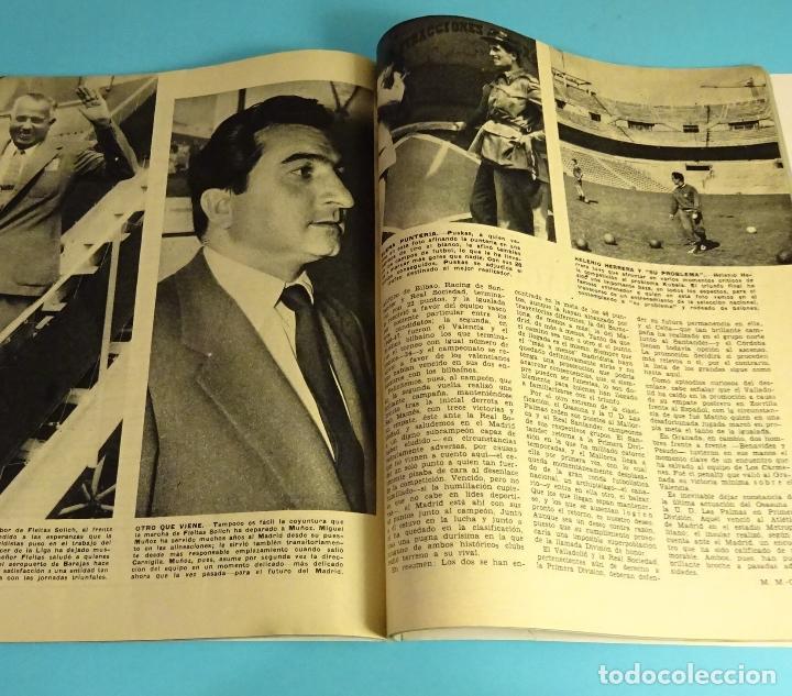 Coleccionismo de Revista Blanco y Negro: BLANCO Y NEGRO Nº 2503. ABRIL 1960. BRASILIA. BARCELONA C.F. REAL MADRID. TINTÍN - Foto 4 - 162521630