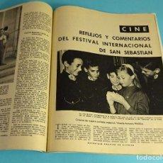 Coleccionismo de Revista Blanco y Negro: BLANCO Y NEGRO Nº 2516. JULIO 1960. EL CONGO. KENNEDY. CALVO SOTELO. ALBARRACÍN. MARISOL. COTTOLENGO. Lote 162518426