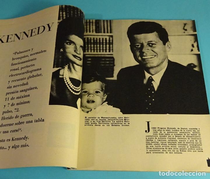 Coleccionismo de Revista Blanco y Negro: BLANCO Y NEGRO Nº 2516. JULIO 1960. EL CONGO. KENNEDY. CALVO SOTELO. ALBARRACÍN. MARISOL. COTTOLENGO - Foto 5 - 162518426