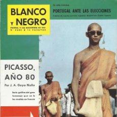 Colecionismo de Revistas Preto e Branco: REVISTA BLANCO Y NEGRO 2584 PICASSO HOMENAJE FRANCIA PUBLICIDAD CENTENARIO TERRY BRANDY SOBERANO. Lote 199176933