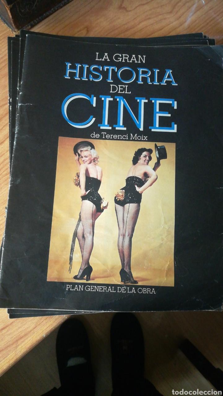 Coleccionismo de Revista Blanco y Negro: 40 fascículos de la Gran Historia del cine por Terenci Moix - Foto 2 - 202654693