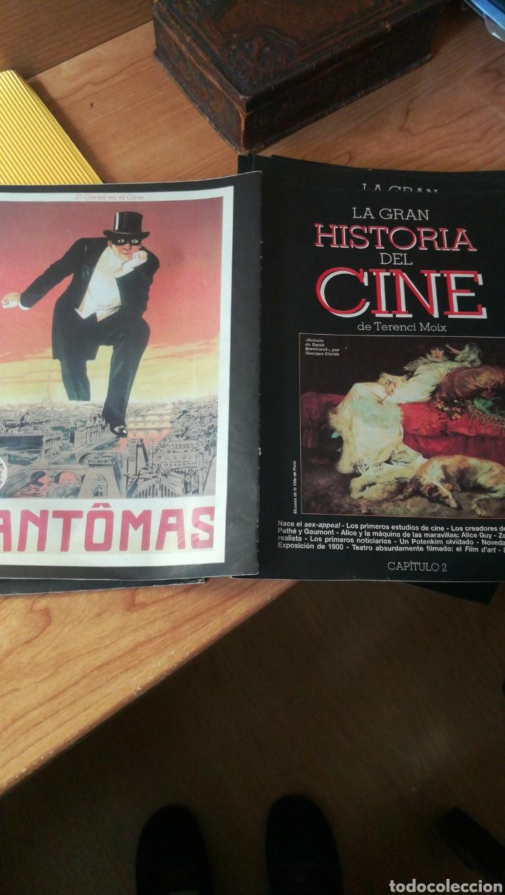 Coleccionismo de Revista Blanco y Negro: 40 fascículos de la Gran Historia del cine por Terenci Moix - Foto 3 - 202654693
