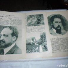Coleccionismo de Revista Blanco y Negro: BLASCO IBAÑEZ -SOROLLA 3 HOJAS DE REVISTA BLANCO Y NEGRO 1926. Lote 203375928