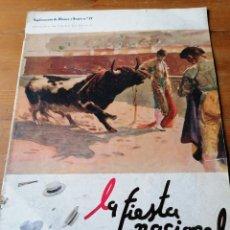 Coleccionismo de Revista Blanco y Negro: SUPLEMENTO BLANCO Y NEGRO. N. 22. LA FIESTA NACIONAL. Lote 205102586