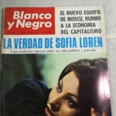 Coleccionismo de Revista Blanco y Negro: REVISTA BLANCO Y NEGRO SOFIA LOREN. Lote 205679083