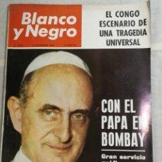 Coleccionismo de Revista Blanco y Negro: REVISTA BLANCO Y NEGRO PABLO VI. Lote 205679270