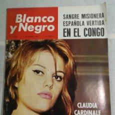 Coleccionismo de Revista Blanco y Negro: REVISTA BLANCO Y NEGRO CLAUDIA CARDINALE. Lote 205679635