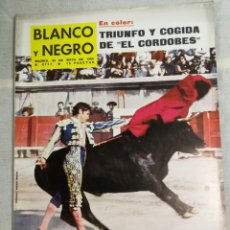 Coleccionismo de Revista Blanco y Negro: REVISTA BLANCO Y NEGRO EL CORDOBES. Lote 205679997