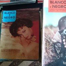 Coleccionismo de Revista Blanco y Negro: 46 REVISTAS BLANCO Y NEGRO AÑOS 1959 - 1958. Lote 205727161