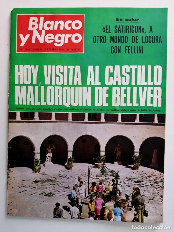 Coleccionismo de Revista Blanco y Negro: Blanco y Negro 2963 Castillo de Bellver Fellini Oliver Twist Nixon Johnson Iraq Maxims - VER FOTOS - Foto 2 - 206884630