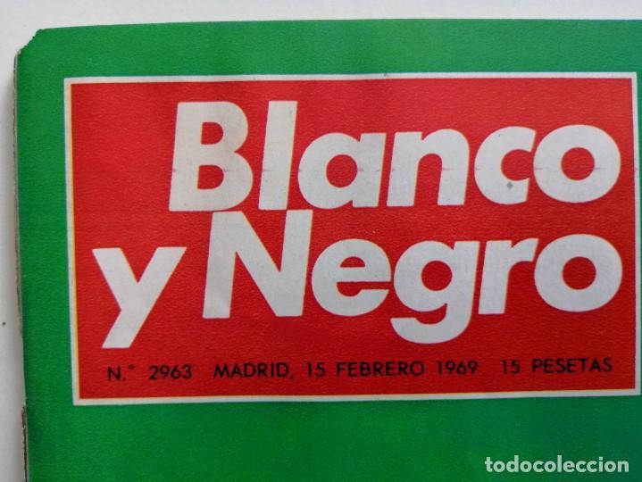 Coleccionismo de Revista Blanco y Negro: Blanco y Negro 2963 Castillo de Bellver Fellini Oliver Twist Nixon Johnson Iraq Maxims - VER FOTOS - Foto 3 - 206884630