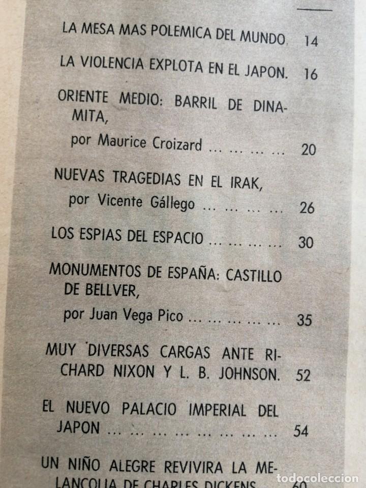 Coleccionismo de Revista Blanco y Negro: Blanco y Negro 2963 Castillo de Bellver Fellini Oliver Twist Nixon Johnson Iraq Maxims - VER FOTOS - Foto 8 - 206884630