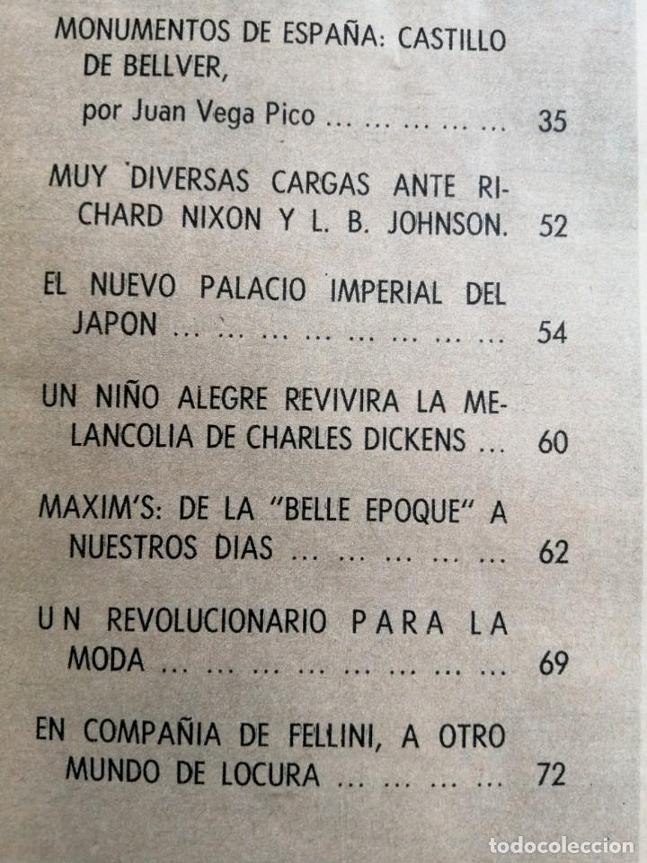 Coleccionismo de Revista Blanco y Negro: Blanco y Negro 2963 Castillo de Bellver Fellini Oliver Twist Nixon Johnson Iraq Maxims - VER FOTOS - Foto 9 - 206884630