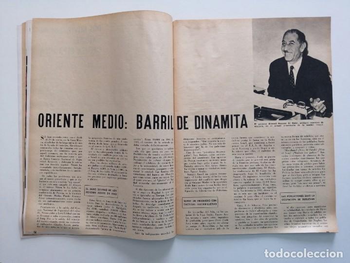 Coleccionismo de Revista Blanco y Negro: Blanco y Negro 2963 Castillo de Bellver Fellini Oliver Twist Nixon Johnson Iraq Maxims - VER FOTOS - Foto 10 - 206884630