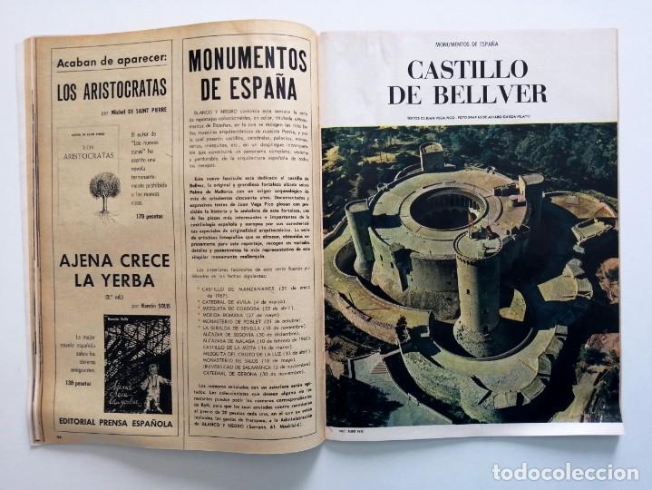 Coleccionismo de Revista Blanco y Negro: Blanco y Negro 2963 Castillo de Bellver Fellini Oliver Twist Nixon Johnson Iraq Maxims - VER FOTOS - Foto 14 - 206884630