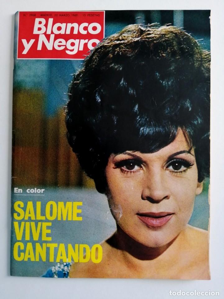 Coleccionismo de Revista Blanco y Negro: Blanco y Negro 2968 - Salomé Paquirri Paul McCartney Beatles Apolo 9 M. Carmen Prendes - VER FOTOS - Foto 2 - 206886238