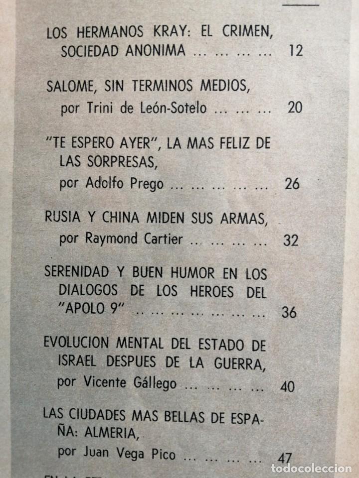 Coleccionismo de Revista Blanco y Negro: Blanco y Negro 2968 - Salomé Paquirri Paul McCartney Beatles Apolo 9 M. Carmen Prendes - VER FOTOS - Foto 11 - 206886238