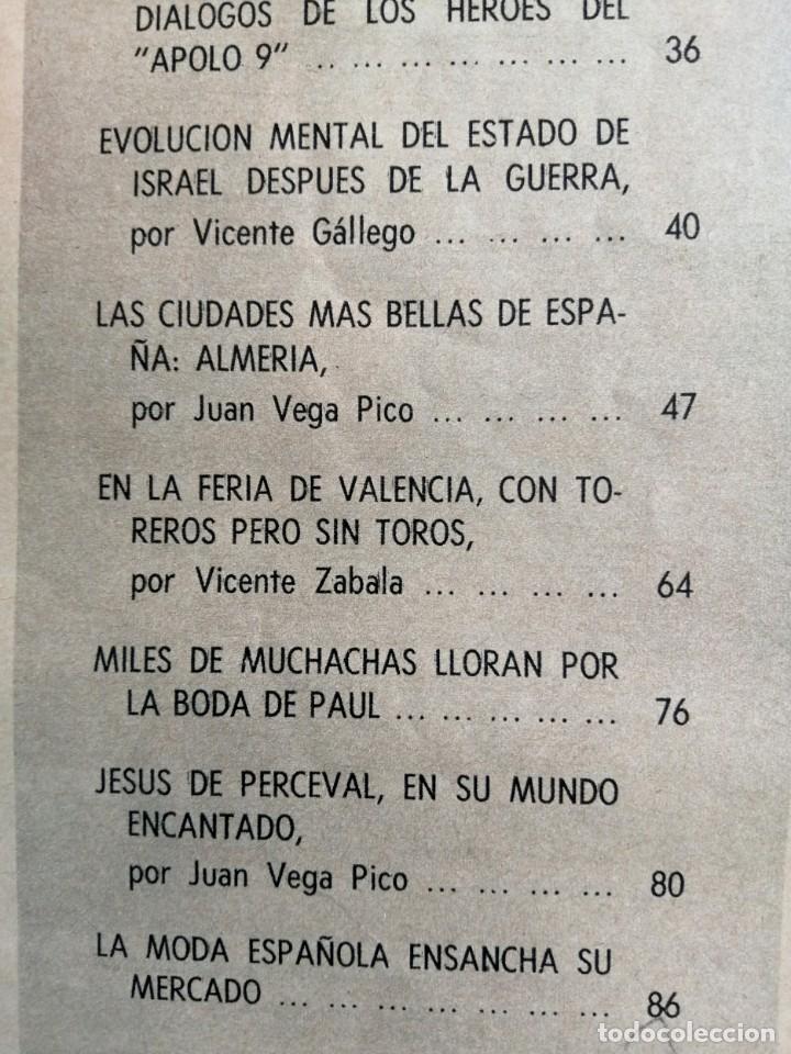 Coleccionismo de Revista Blanco y Negro: Blanco y Negro 2968 - Salomé Paquirri Paul McCartney Beatles Apolo 9 M. Carmen Prendes - VER FOTOS - Foto 12 - 206886238