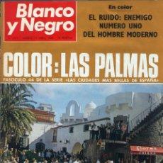 Coleccionismo de Revista Blanco y Negro: BLANCO Y NEGRO 2971 - LAS PALMAS PALOMO LINARES EL CORDOBÉS EISENHOWER MAO - VER FOTOS. Lote 206893247